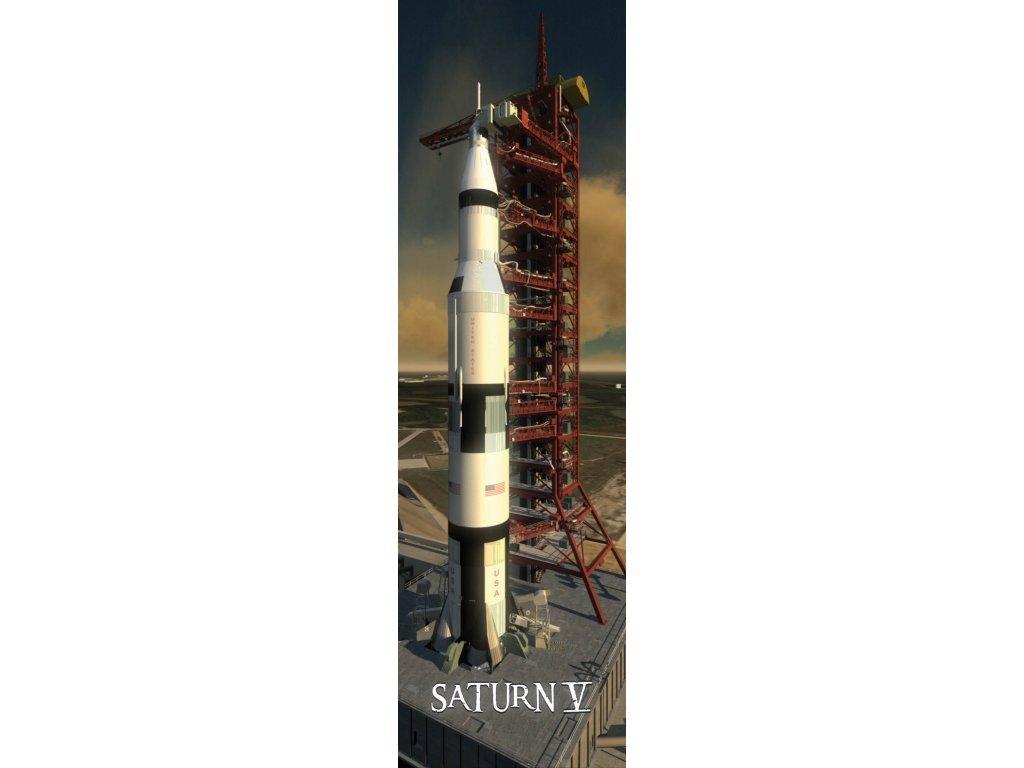 Saturn V moon rocket 3D