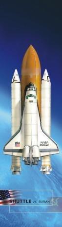 3D záložka Buran vs Shuttle