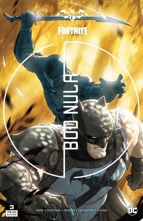 Batman Fortnite - Bod nula 3 - Gage Christos