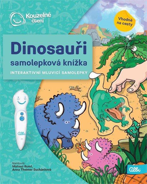 Albi KČ Samolepková knížka Dinosauři - Albi