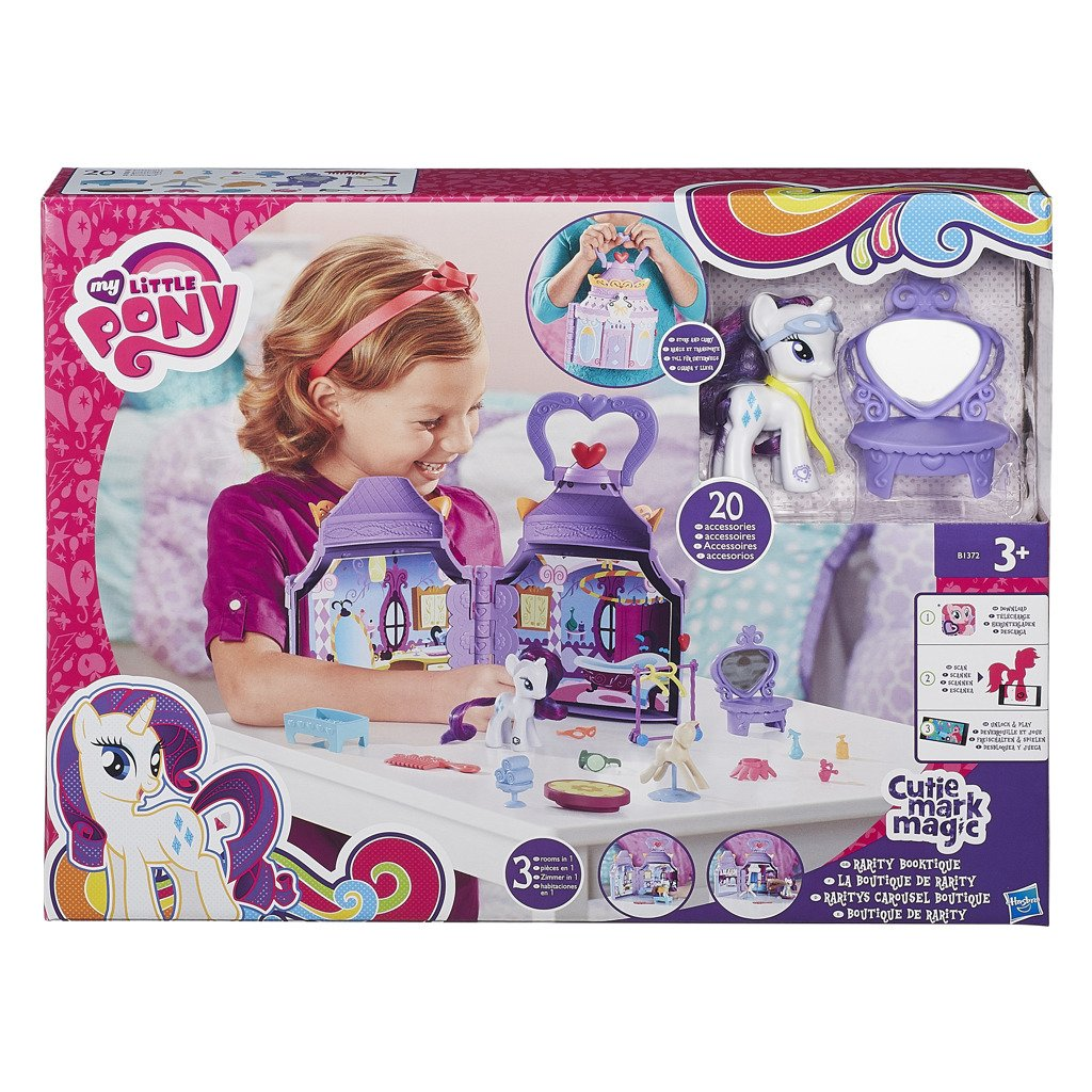 My Little Pony cmm rarity boutique - Hasbro My Little Pony