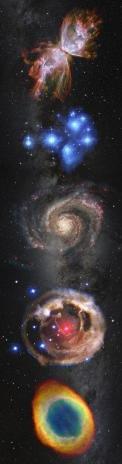 3D záložka Galaktická