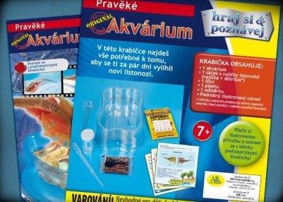 Náhled Minisada Pravěké akvárium