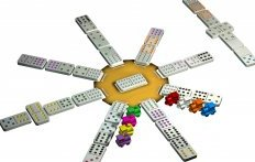 Náhled Domino Double 12 - Mexický vlak - Tactic