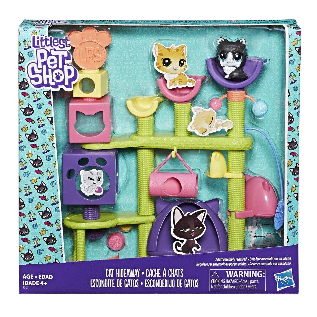 Littlest Pet Shop Set kočičí domeček - Hasbro Littlest Pet Shop
