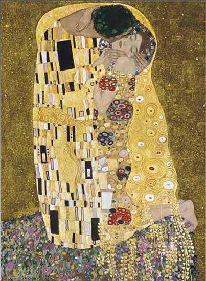 Klimt Gustav: Polibek - Puzzle/1500 dílků