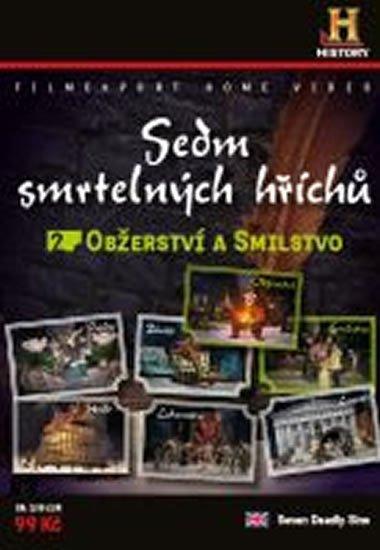 Filmexport Sedm smrtelných hříchů 2. - Obžerství, Smilstvo - DVD digipack