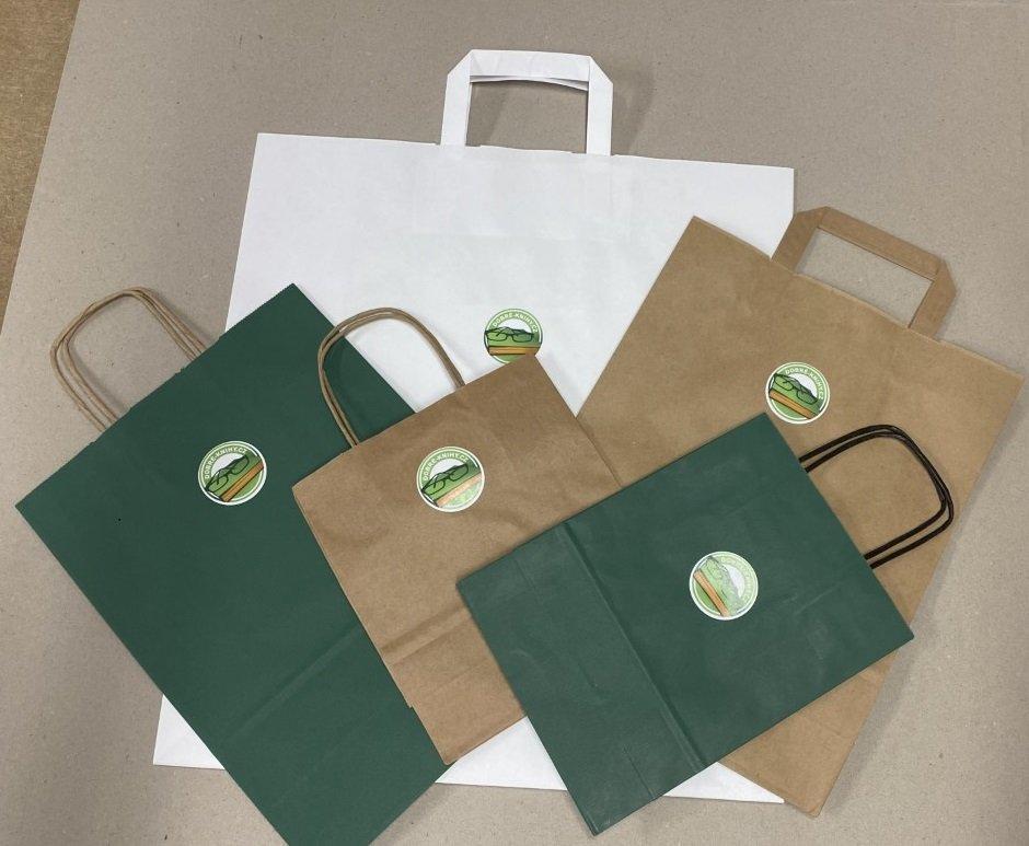 Papírová taška DK