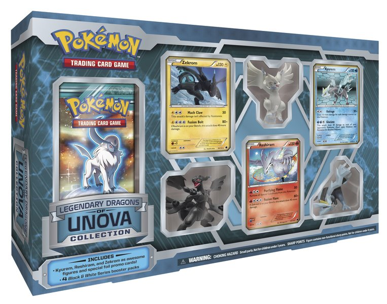 Pokémon: Legendary Dragons of Unova Collection