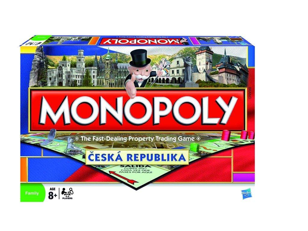 Monopoly národní edice cz - Hasbro hry