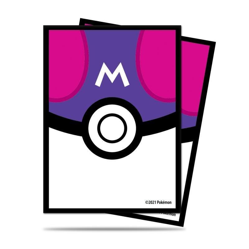 Pokémon: Deck Protector Master Ball obaly na karty - 65 kusů (fialové)