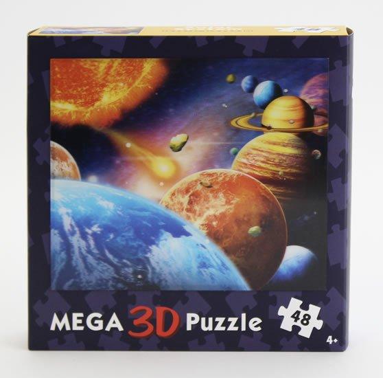3D puzzle Vesmír