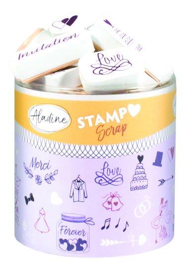 Razítka StampoScrap - svatební