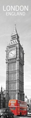 3D záložka London in red