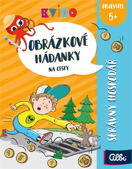 ALBI Obrázkové hádanky - České pohádky - Albi