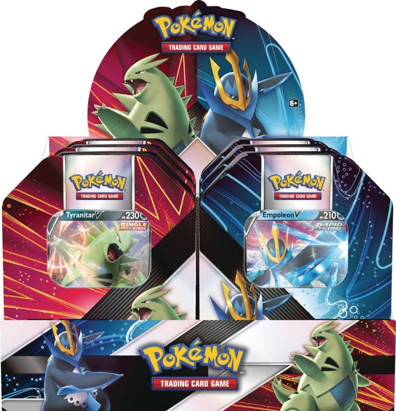 Pokémon TCG: V Strikers Tin (Tyranitar V / Empoleon V)