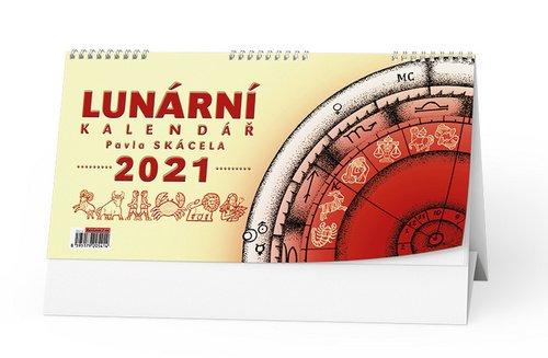 Stolní kalendář Lunární kalendář Pavla Skácela 2021