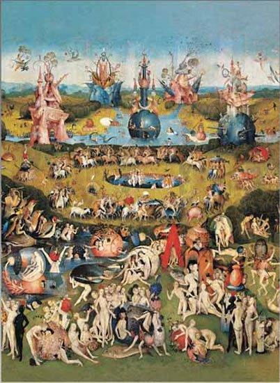 Bosch Hieronymus: Zahrada pozemských rozkoší - Puzzle/2000 dílků