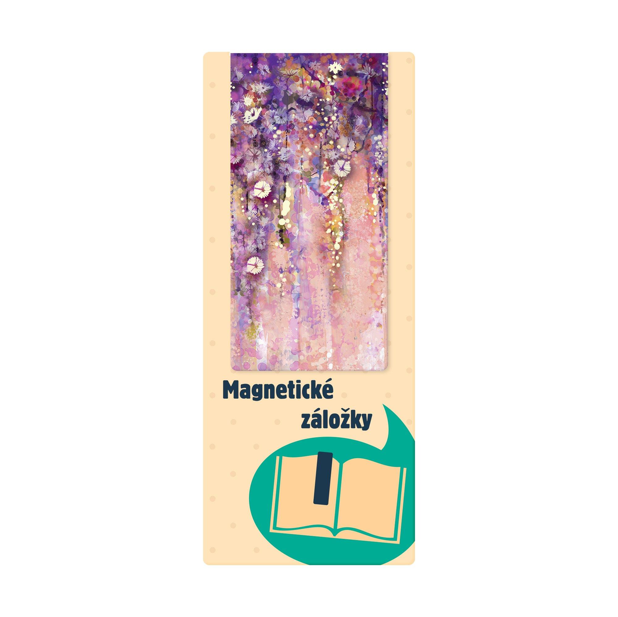 ALBI Magnetická záložka - Květiny - Albi