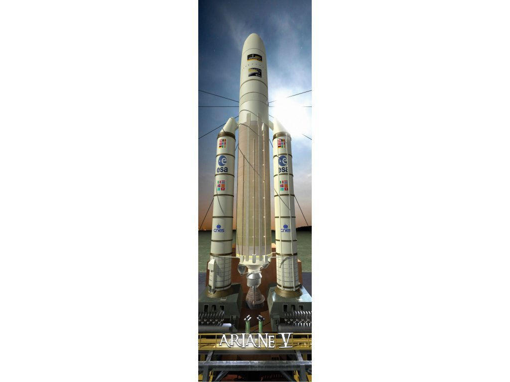 Ariane V lauch 3D