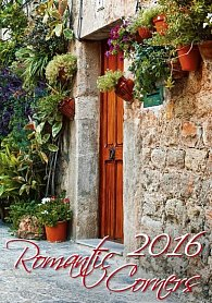 Kalendář nástěnný 2016 - Romantic Corners