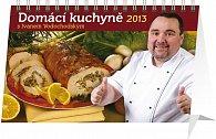 Kalendář 2013 stolní - Domácí kuchyně s Ivanem Vodochodským, 23,1 x 14,5 cm