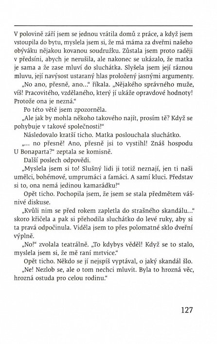 Náhled Bonaparťačka - Lásky pražské plavovlásky