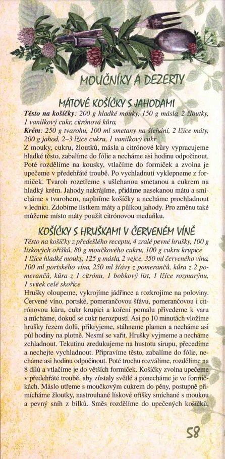 Náhled Babiččiny bylinkové recepty pro voňavé vaření