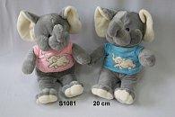 Slon v triku 20cm