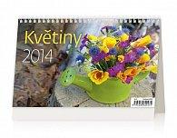 Kalendář 2014 - Květiny - stolní