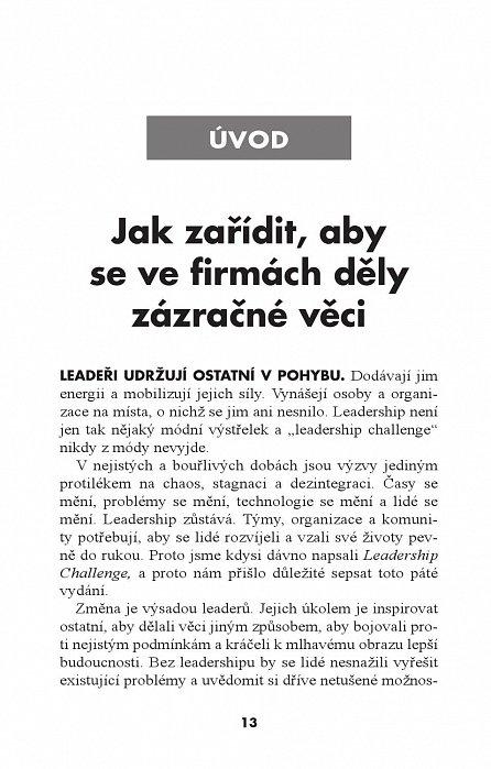 Náhled Leadership Challenge
