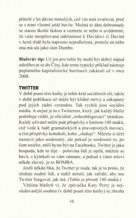 Náhled Jak blafovat o sociálních médiích