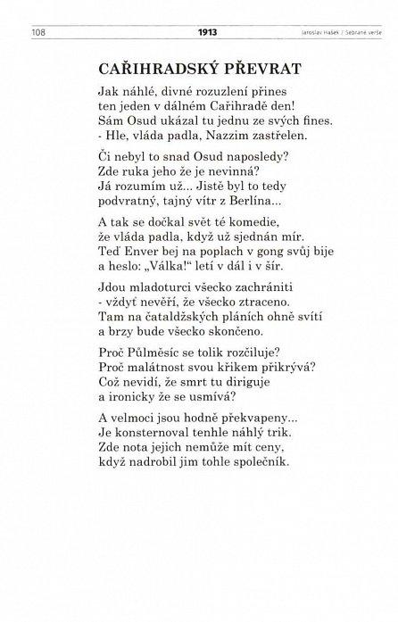 Náhled Jaroslav Hašek - Sebrané básně