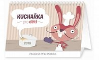 Kalendář stolní 2016 - Kuchařka pro děti,  23,1 x 14,5 cm