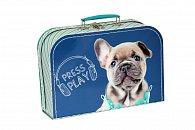 Kufřík Pejsek Blue Ray tmavě modrý 30 cm