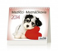 Kalendář 2014 - MiniMax Mazlíčci - stolní