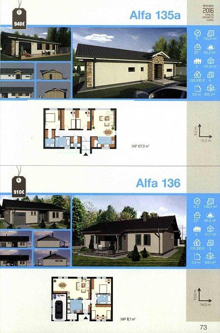 Náhled Katalóg 2016 * rodinné a bytové domy * chaty a chalupy * nízkoenergetické domy