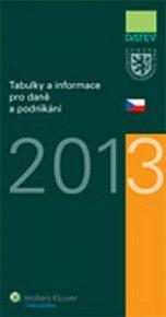 Tabulky a informace pro daně a podnikání 2013