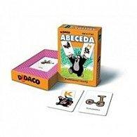 Vzdělávací karty - Abeceda - Krteček