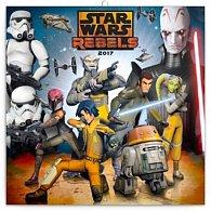 Kalendář poznámkový 2017 - Star Wars Rebels/Povstalci