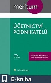 Meritum Účetnictví podnikatelů 2014 (E-KNIHA)