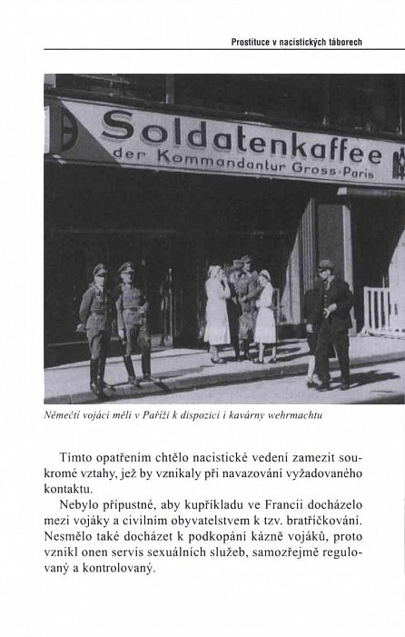 Náhled Prostituce v nacistických táborech. Himmlerovy nevěstince