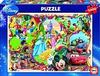 Puzzle Disneyho Svět 1000 dílků