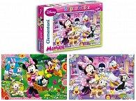 Puzzle Supercolor Minnie 2x20 dílků