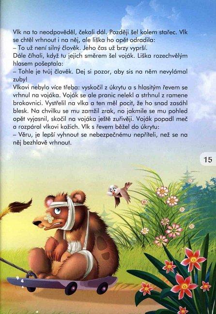 Náhled Pohádky o zvířatech - Zajíček a ježek a další pohádky