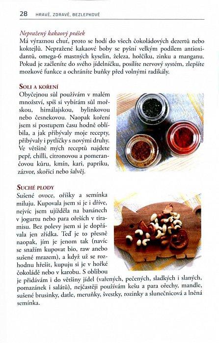 Náhled Hravě, zdravě, bezlepkově - Jednoduché bezlepkové recepty, po kterých se budete moci utlouct