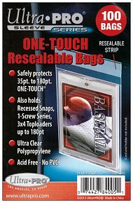 UltraPro: One Touch Resealable Bags