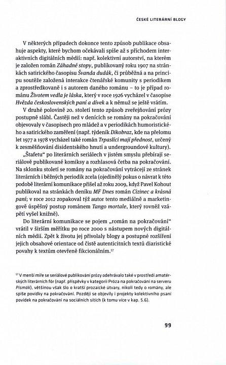 Náhled Česká literatura a nová média
