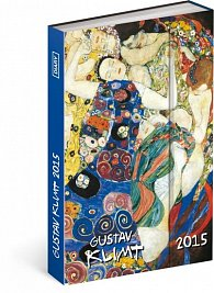 Diář 2015 - Gustav Klimt (GB, DE, FR, IT, ES, NL)
