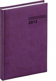 Diář 2013 - Tucson-Vivella - Denní A5, tmavě fialová, 15 x 21 cm